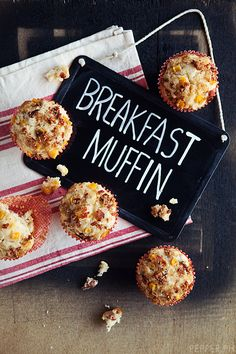 Early mornings got you sleepwalking your way to the blood donor center? Try these breakfast muffins for a great morning pick-me-up before your early morning blood drive or donation!