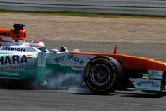 Paul di Resta, Qualifying, German Grand Prix
