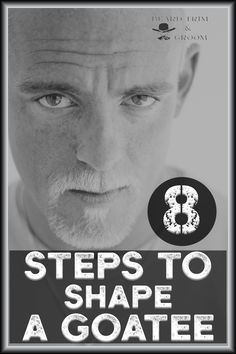 Shape a goatee beard with these 8 easy steps. I have been shaping and styling my beard for years and that's where I share my experience. Read more at beardtrimandgroom.com #howtoshapeagoatee #goateestylesshape #beardstylesgoatee