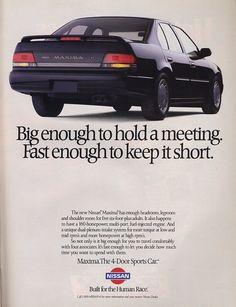 1989 Toyo Tire Nissan 240SX IMSA Race Classic Car Advertisement Print Ad J100
