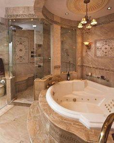 Spa Bathroom Design, Bathroom Spa, Bathroom Layout, Small Bathroom, Bathroom Ideas, Bathroom Vanities, Remodel Bathroom, Bathroom Cabinets, Luxury Master Bathrooms