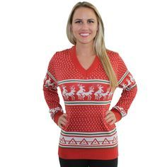 red elf sweaters women - Google Search
