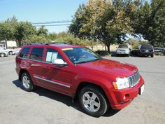 Come to Chico for a great used SUV like this 2006 Jeep Grand Cherokee Overland…