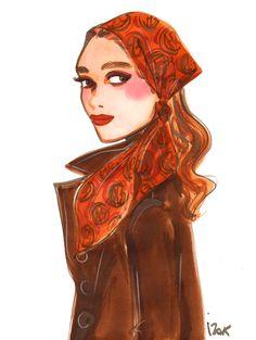 Henri Bendel Illustrations- Izak Zenou #charmiesbywendy #hestonc-