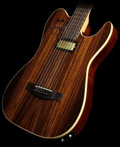 Godin Limited Edition 40th Anniversary Rosewood Acousticaster Electric Guitar