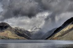 Britain's favourite view at Wastwater, Lake District, England in winter. Photo: Alan Cleaver