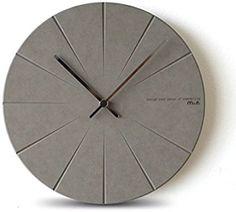 北欧 時計 おしゃれ 掛時計 壁掛け 掛け時計 リビング 現代 シンプル ファッション 水晶時計 シズネ 個性 鐘 グレー