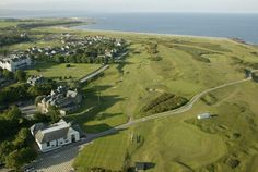 Dornoch, Scotland.  I could live and play golf here and in Brora the rest of my life and be very happy!