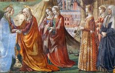 GO TO SANTA MARIA NOVELLA, Florence to see the stunning Ghirlandaio frescos in Tornabuoni Chapel www.susanvanallen.com