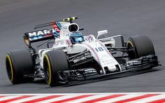 Download wallpapers Lance Stroll, Williams FW40, Formula 1, number 18, Williams Martini Racing, F1, Canadian racer