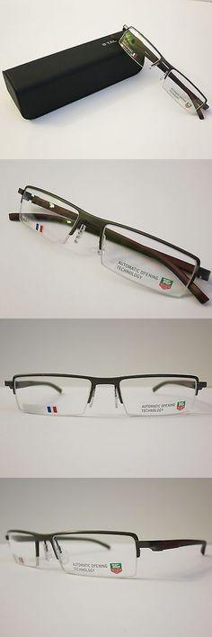 8b2b046b49 Other Vision Care: Tag Heuer Th0822 006 Black Burgandy Glasses Eyewear  Eyeglass Frame Authentic BUY