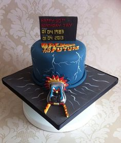 Back To The Future - by SugarMummyCupcakes @ CakesDecor.com - cake decorating website