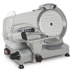 Della Premium Chromium-plated Carbon Steel Blade Electric Deli Meat Cheese Food Slicer Commercial and for Home use Deli Tray, Meat Slicers, Best Amazon Products, Meat And Cheese, Cheese Food, Electric Foods, Vegetable Slicer, Best Meat, Specialty Appliances