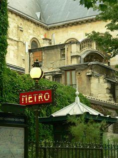 Saint Germain des Pres. Paris.