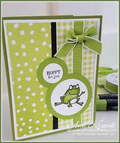New Baby Cards Handmade Boy Simple Stampin Up Ideas Baby Boy Cards Handmade, New Baby Cards, Handmade Birthday Cards, Stampin Up Anleitung, Daisy, Marianne Design, Stamping Up Cards, Pretty Cards, Folded Cards
