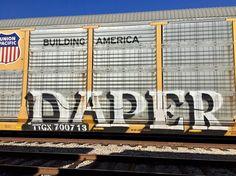 #daper #train #freight #steelgiants #trainart #nashville #tn #tennessee #graffiti #graff #streetart #lol #cool #saturday #artist #art #vibes