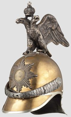 A Russian helmet for enlisted men of the Life Guard H.I.M. Cuirassier Regiment or the Kavalergardsky Regiment, circa 1910