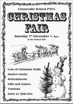 Crosscrake Xmas fair