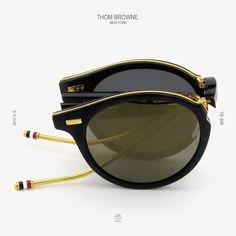 THOM BROWNE. eyewear 2015S/S 最新作 TB-806 折りたたみサングラス