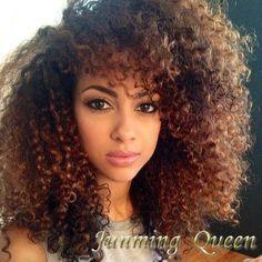 ombre curly hair - Căutare Google