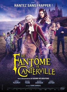 LE FANTÔME DE CANTERVILLE. Un fantôme et son valet tentent, sans succès, d'effrayer les nouveaux occupants de leur château…