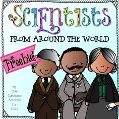 Use this to emphasize cultural diversity - your students will learn about scientists from all over the world – both male and female. I send this ho. Kindergarten Science, Elementary Science, Middle School Science, Science Classroom, Science Fair, Teaching Science, Stem Science, Teaching Tools, Teaching Resources