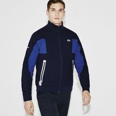 22c1f1d1f66 Men s Lacoste SPORT Golf Water Resistant Taffeta Jacket Survetement Lacoste  Homme
