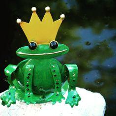 King Frog Tea Light Holder