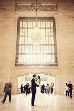 Grand Central & Central Park are two of my favorite places for photographer's to get shots of the bride and groom. Before getting married and meeting with your photographer, be sure to scout locations that can be to your benefit! Your photographer may even know some great locations. These are great photo opportunities that will allow you to look back at your photos & smile.