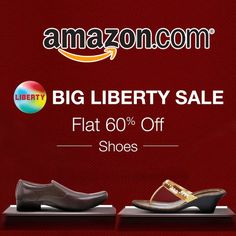 #Get Flat 60% off on Liberty Shoes - Amazon