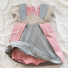 trommpo origami baby dress - | Thumbe Line