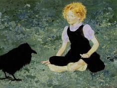 Jamie Wyeth - The Raven Girl