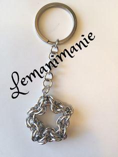 #portachiavi #chainmail #stella, by Lemanimanie, 12,00 € su misshobby.com