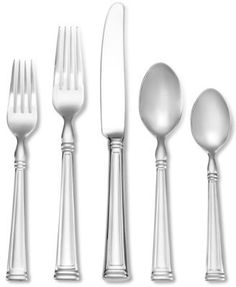 Lenox ESQUIRE Stainless 18//10 Glossy Silverware CHOICE Flatware
