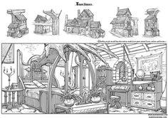 'Valley of the Giants' (Source: http://www.burenerdene.com/)    (BurenErdene.A - Concept Artist - Home)