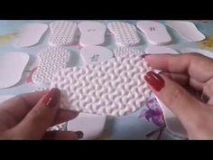 Solas de EVA para Bebes criancas e adultos Cecilia Jane Croche - YouTube
