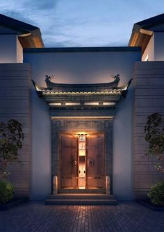 The most delicate Chinese Architecture with unmatched design designs. Chinese Buildings, Ancient Chinese Architecture, China Architecture, Interior Architecture, Chinese Door, Chinese Courtyard, Chinese Design, Chinese Style, Chinese Interior