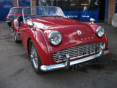 For Sale: TRIUMPH TR3a RED, overdrive, genuine UK rhd… http://ebay.to/1DXC19Q #uk #classiccars #cars #carsforsale