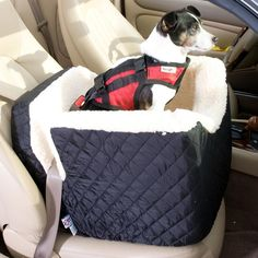 Lookout Sherpa Lined Dog Carseat