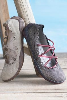 Kettle Embossed Suede Flats from Jambu®: Exceptional Casual Clothing for Men & Women from #TerritoryAhead $69.50