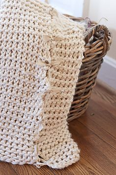 easy knit blanket with instructions