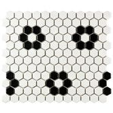 "Found it at Wayfair Supply - Retro 0.875"" x 0.875"" Porcelain Mosaic Tile in Matte White"