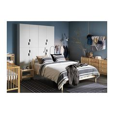 fjellse cadre de lit pin luroy 140x200 cm luroy ikea opening ikea bedroom