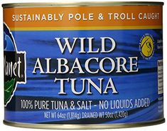 Wild Planet Bulk Wild Albacore Tuna, 64 Ounce * Quickly view this special product, click the image : Fresh Groceries Tuna Salad No Mayo, Avocado Tuna Salad, Wild Tuna, Eco Store, Natural Ecosystem, Good Environment, Tuna Recipes, Protein Sources, Healthy Snacks