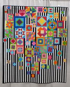 Gypsy Wife by Catherine Mosely | The coolest gypsy wife quilt I have seen.