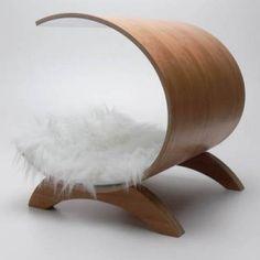 design hondenmanden hout