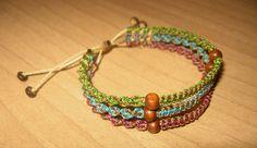 Triple bracelet by enenauta.deviantart.com on @deviantART