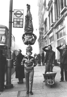 Bertram Mills Circus, London, 1953. S)