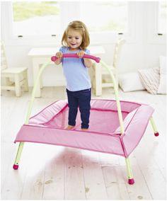Junior Trampoline - Pink