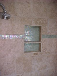 shower shelf idea for when we re-do master shower!